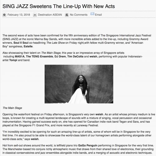 Sing Jazz 2018